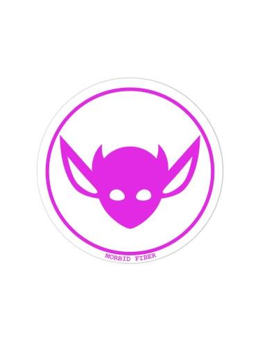 Morbid LA Streetwear Pink IMP Head Sticker Decals