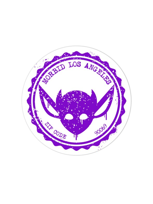 Morbid-Los-Angeles-Streetwear-Purple-Grunge-Sticker-Decal