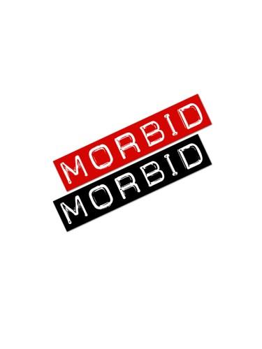 Morbid fiber Carbon 14 Stickers