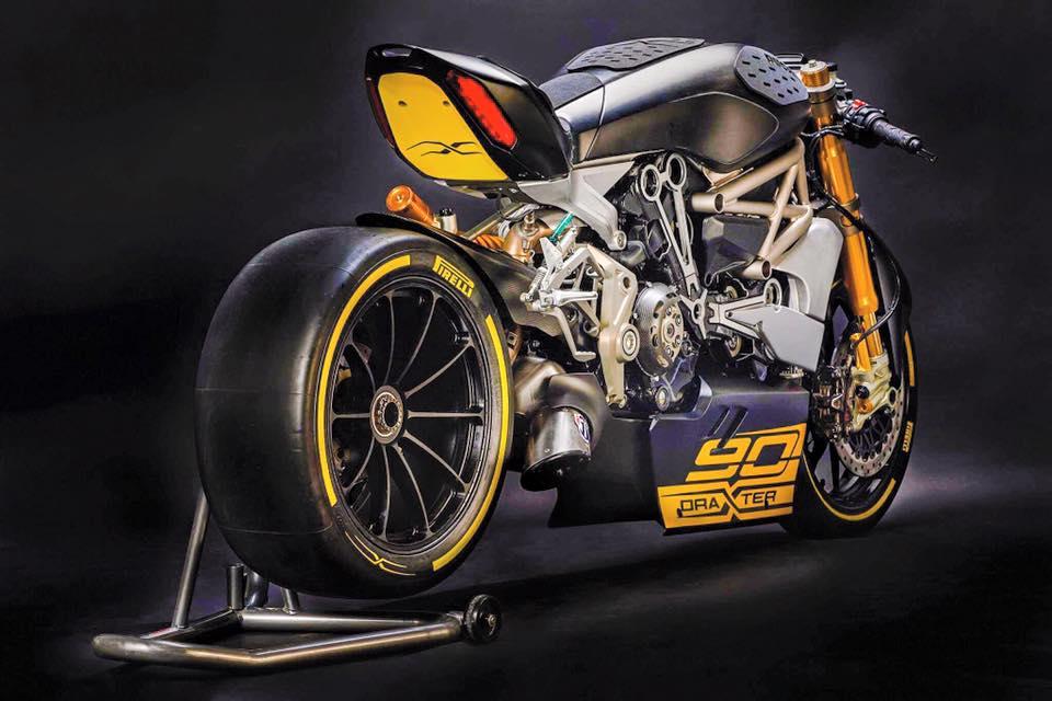ducati draxter konzept vorgestellt morc motorbike. Black Bedroom Furniture Sets. Home Design Ideas