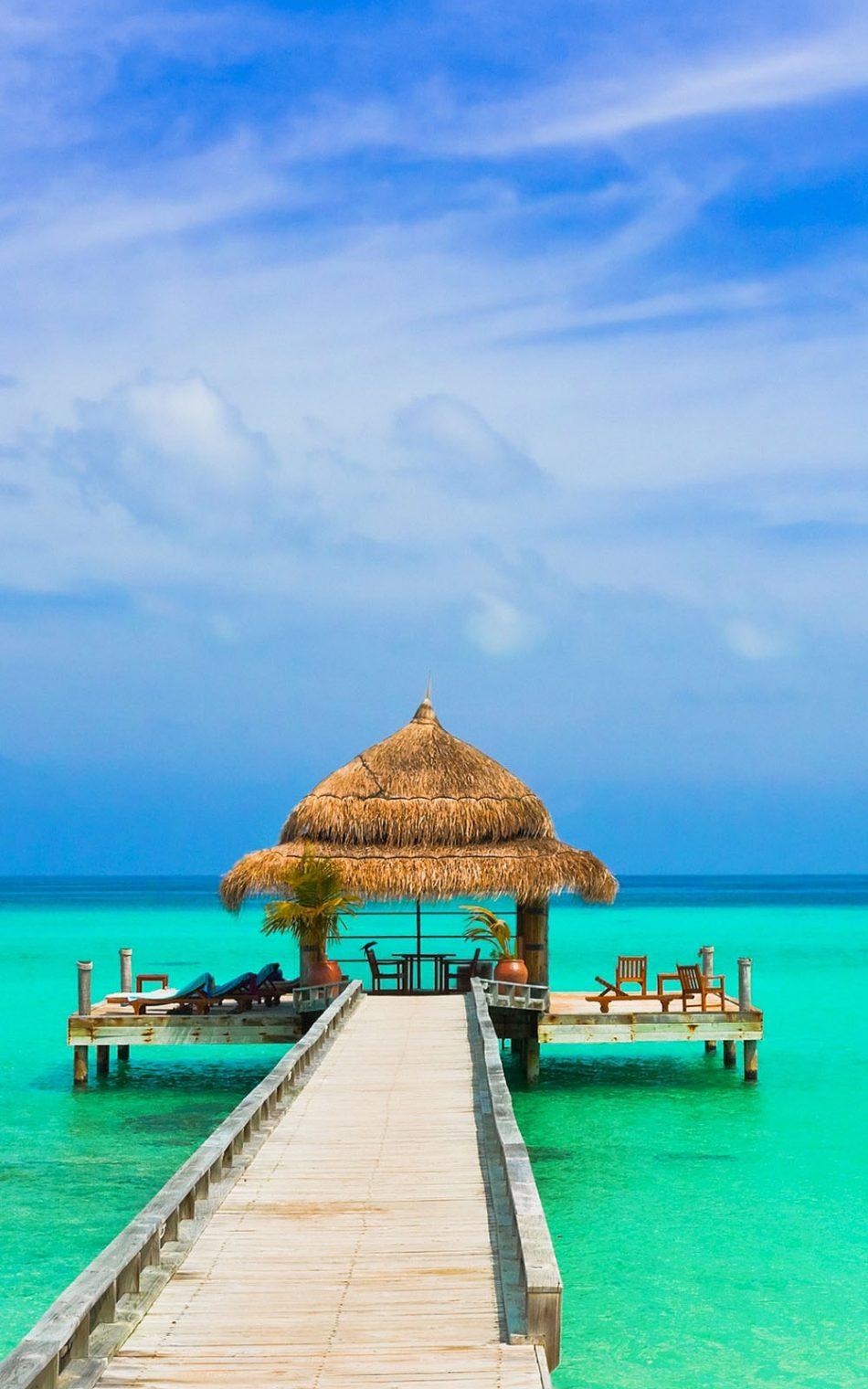 download amazing blue sky sea beach free pure 4k ultra hd mobile
