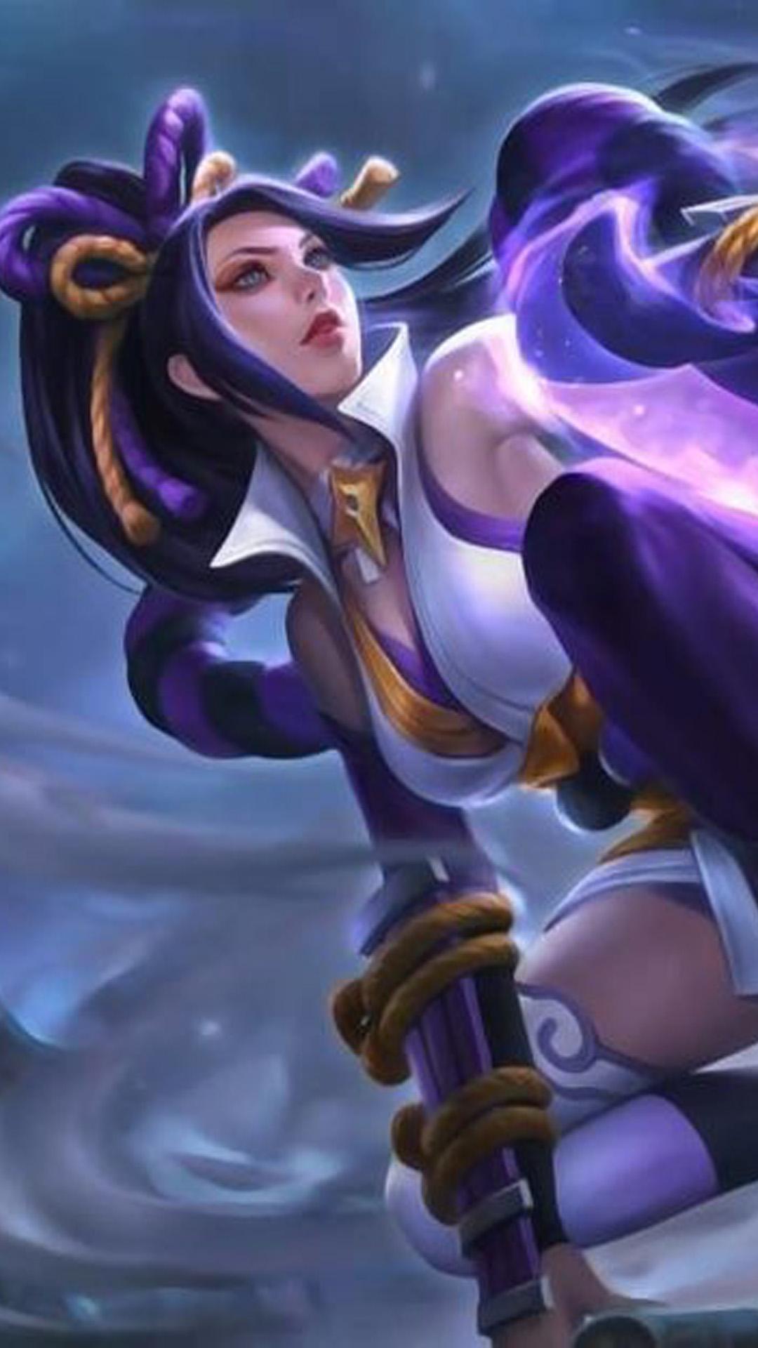 Download Hanabi Resplendent Iris Mobile Legends Free Pure