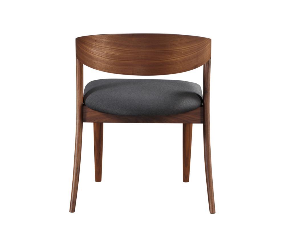 Amara dining chair black more decor for Abanos furniture industries decoration llc