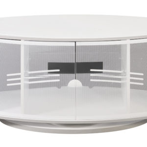 TV Console High Gloss White