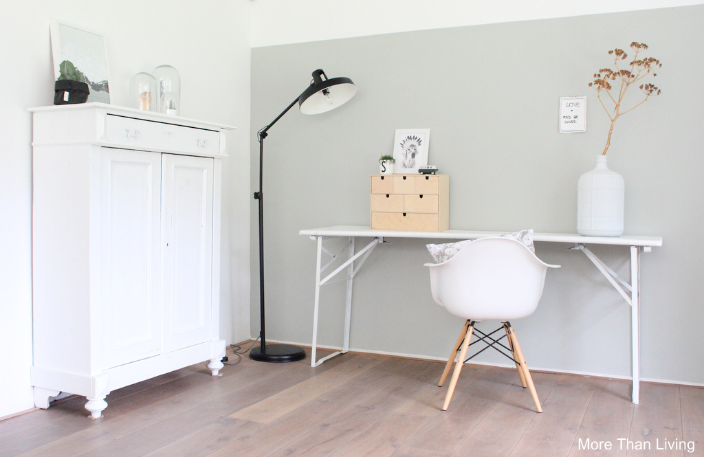 De woonkamer en mijn blog