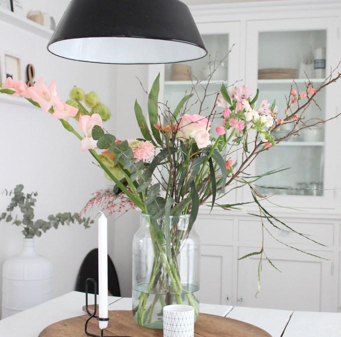 Een mooi boeket bloemen