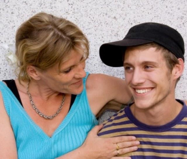 Mom Amd Son Talking