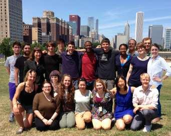 Group photo Moreau Lab – Summer 2013