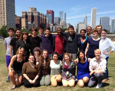 Group photo Moreau Lab – Summer 2013
