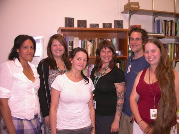 Ant Lab – August 2009 - Group photo