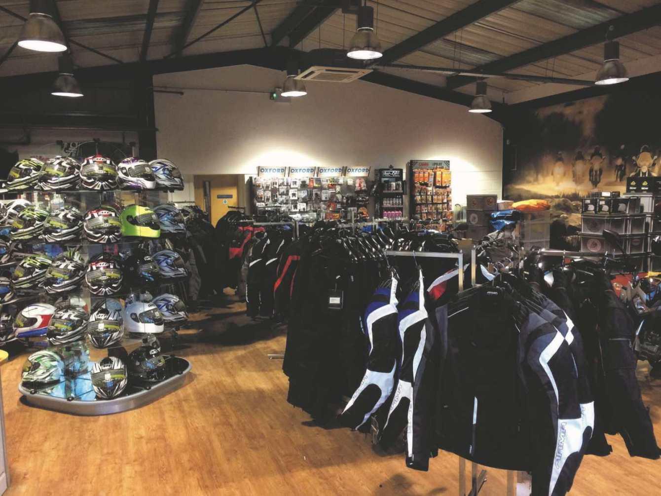 Devon Moto Showroom