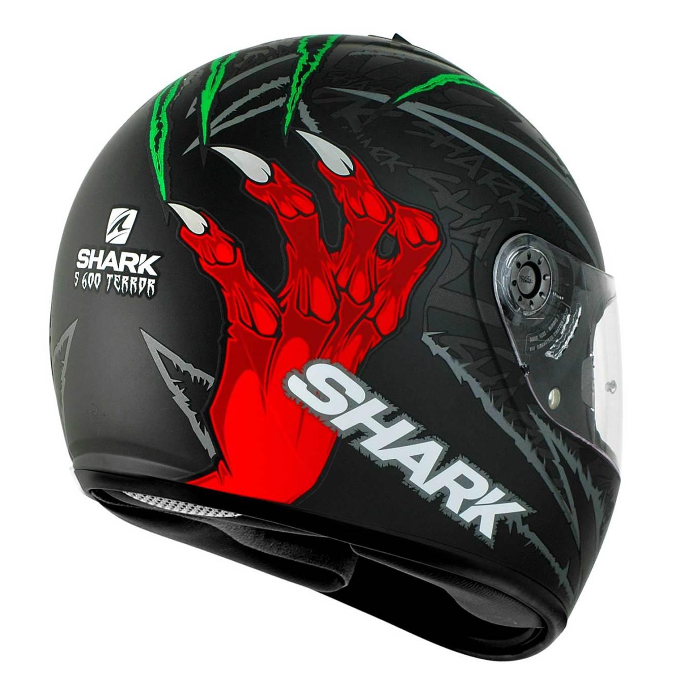 Shark S600 Terror Matt