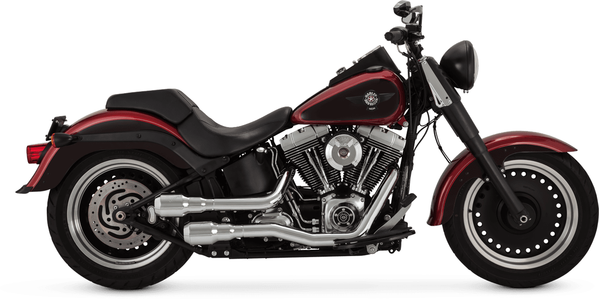 new exhaust system from vance hines