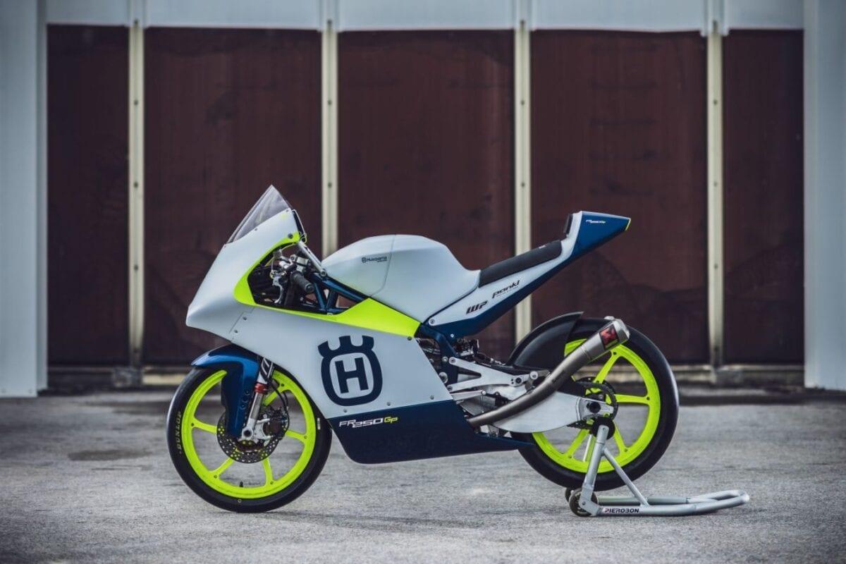 Husky's FR 250 GP race bike