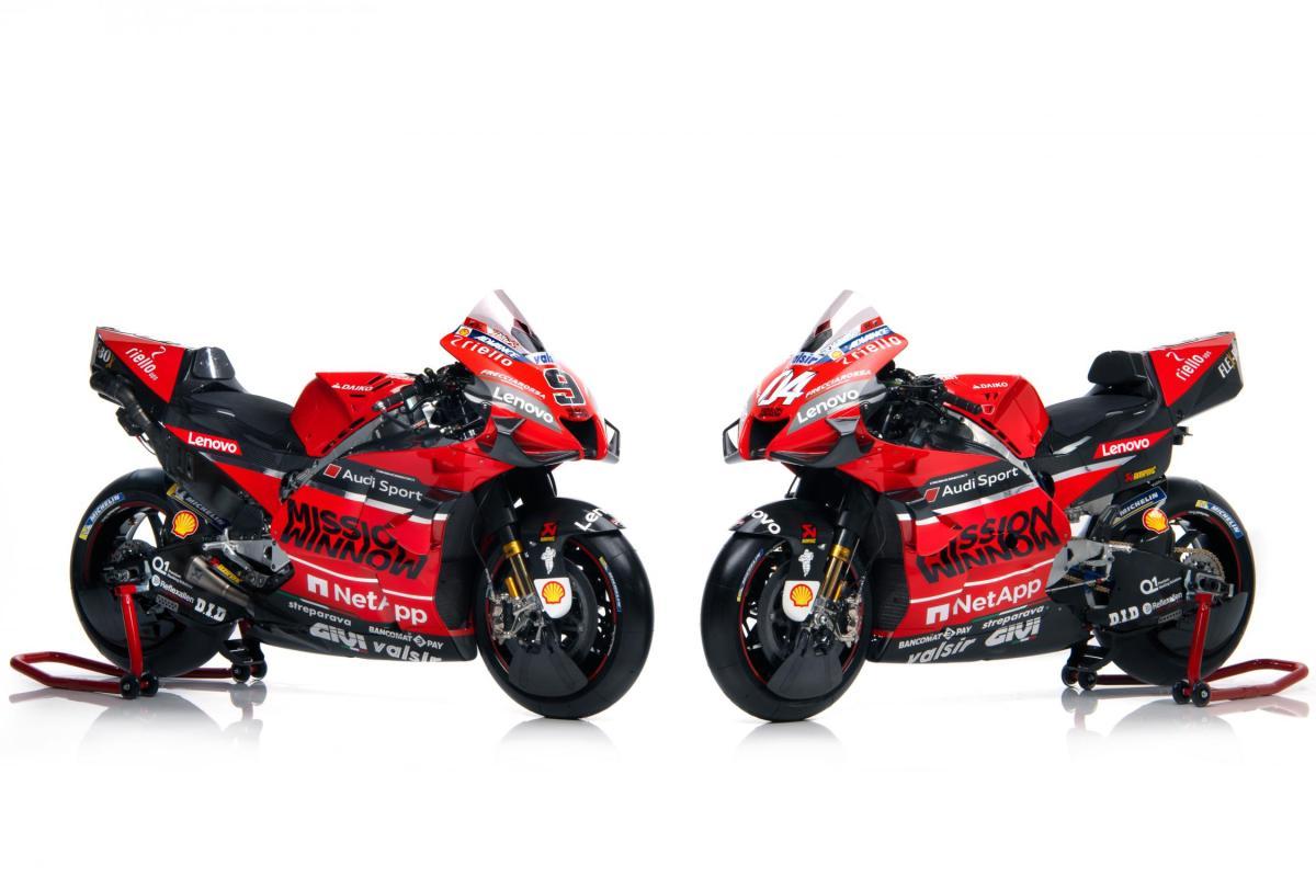 MotoGP: Ducati unveils its Desmosedici GP race bike for 2020. MEGA gallery and TECH SPECS.