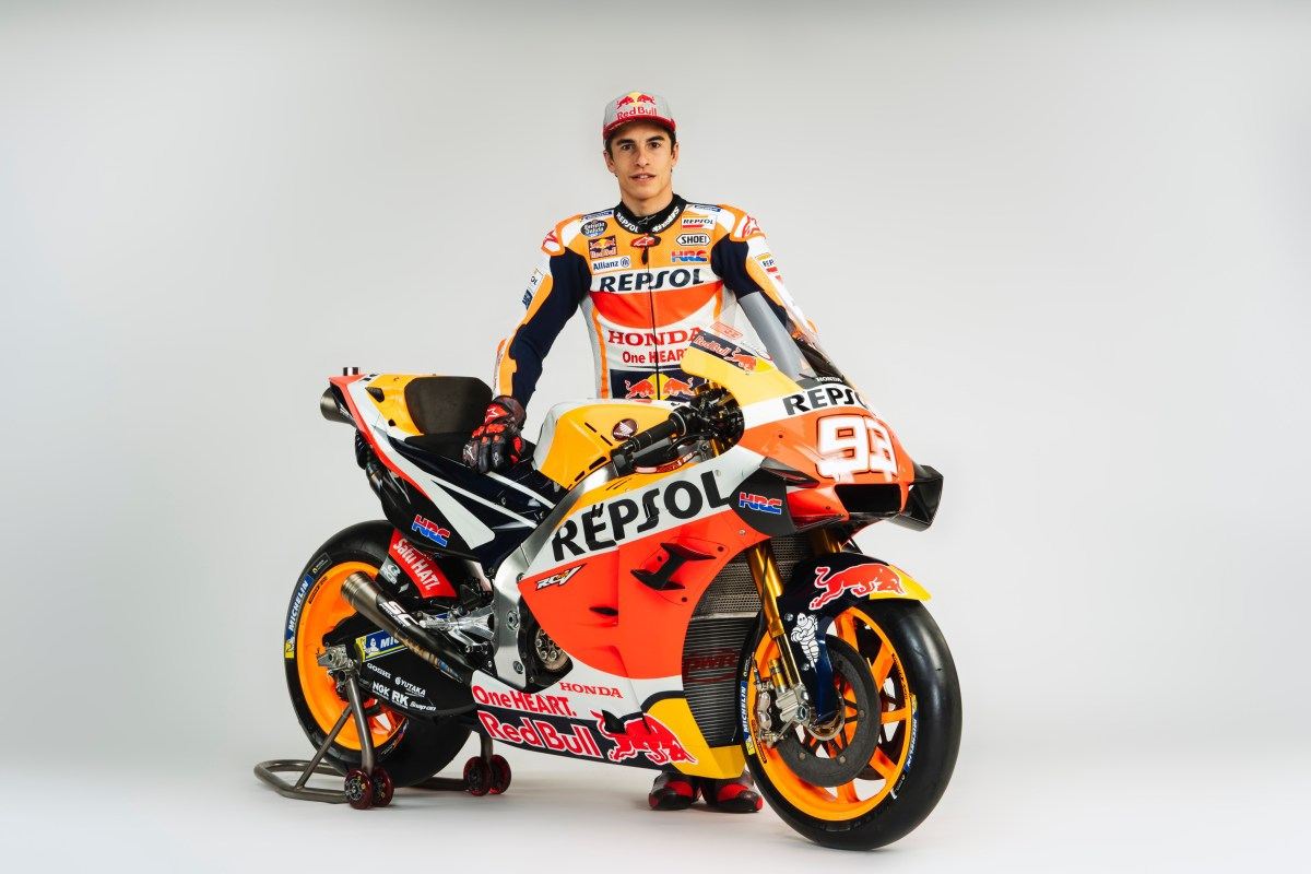 This man, here, this Marc Marques fella, is looking to be the King for another four years at least... do you think everyone else in the MotoGP paddock is just that little bit more worried about their seasons to come, now?
