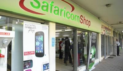 Safaricom-Shops