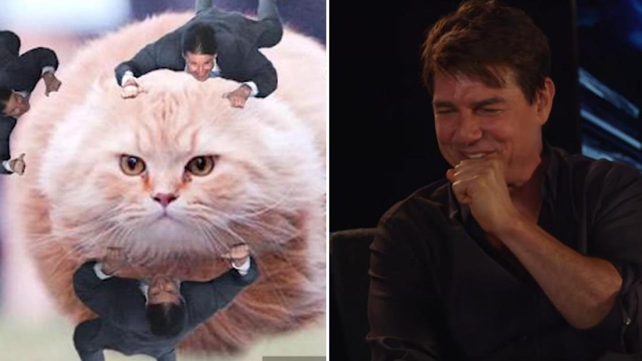 Tom Cruise Reacts To His Tom Cruise Clinging Meme For