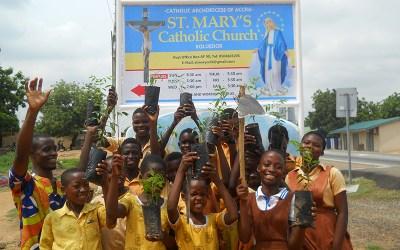 St. Mary's Catholic Church / School Has Planted 1,000 Trees