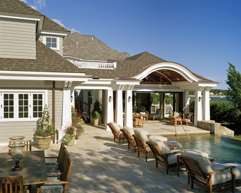 Outdoor Patio Design Cape Cod Morehouse Macdonald And Associates