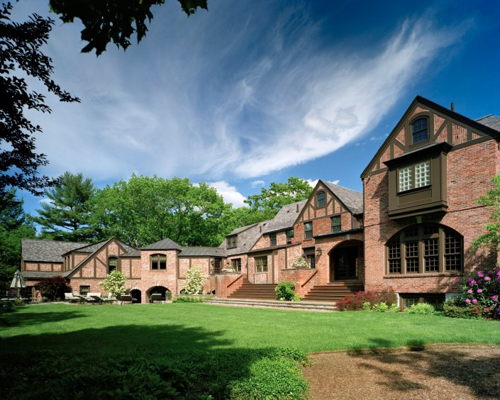 Renovated English Tudor from 1920s.
