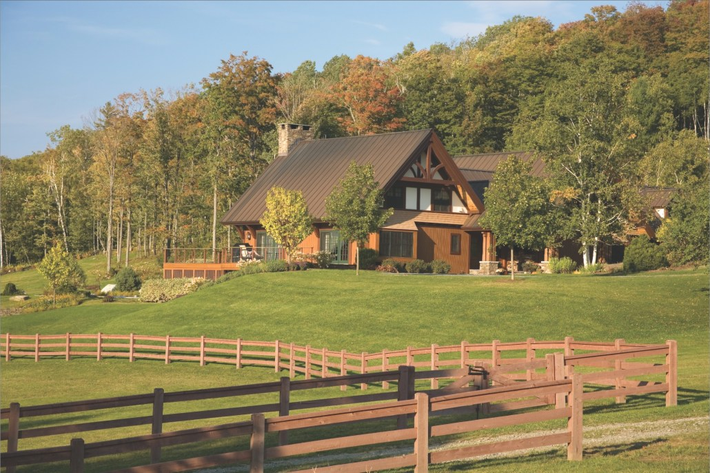 Vermont Barn exterior