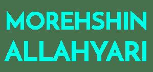 Morehshin Allahyari Wordmark Logo