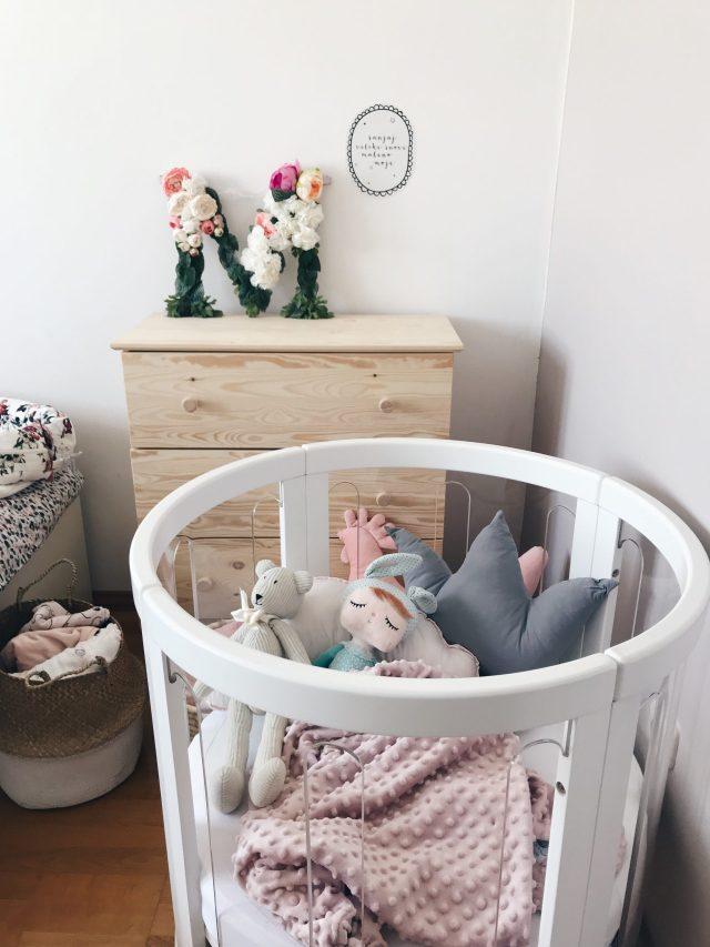 okrugli krevetić za bebe kaylula