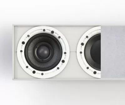 SOUNDWALL™ LCR IN-WALL SOUNDBAR MODULAR SYSTEM - Morel