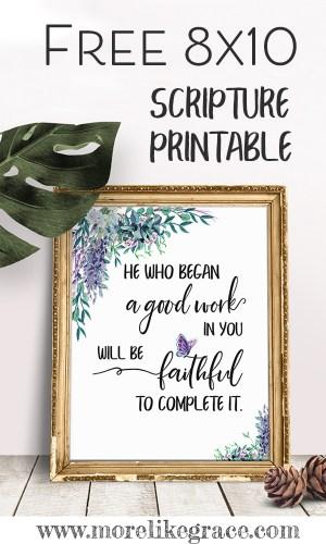 Free Scripture Printable