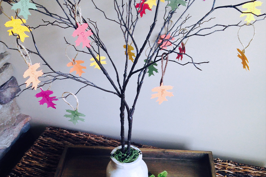Teach Gratitude with a Thanksgiving Tree