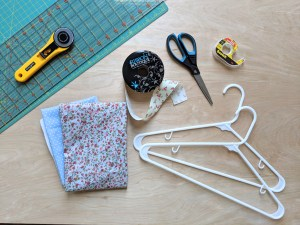 DIY Fabric-Covered Hangers