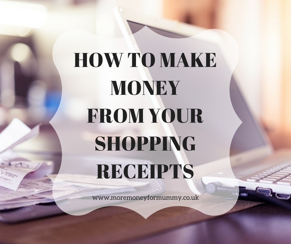 Make money with receipts