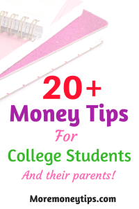 20 Money Tips To Survive and Thrive in College