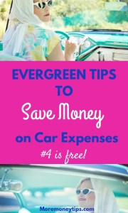 11 evergreen tips to save on your car