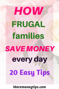 How frugal families save money every day