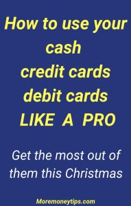 How to use cash, credit cards like a pro
