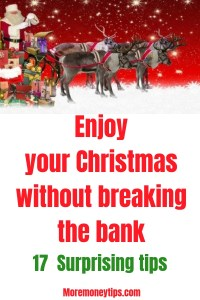Enjoy your Christmas without breaking the bank
