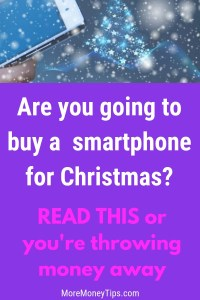 Are you going to buy a smartphone for Christmas?
