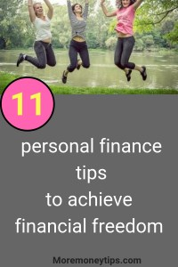 11 personal finance tips to help you achieve financial freedom