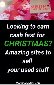 Looking to earn cash fast for Christmas?