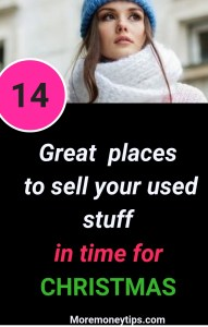 14 great places to sell your used stuff in time for Christmas