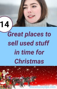 14 Great Places to sell used stuff in time for Christmas