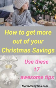 How to get more out of your Christmas Savings