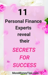 11 Personal Finance Experts Reveal their Secrets of Success
