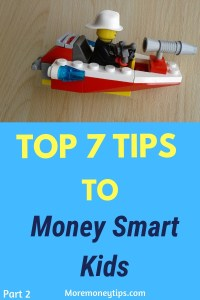 Top 7 Tips to Money Smart Kids