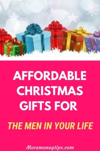 Affordable Christmas gifts for the men in your life