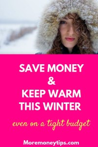 Save money and keep warm this winter