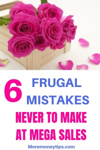 6 mistakes never to make at mega sales