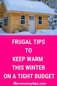 Frugal tips to keep warm this winter on a tight budget